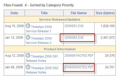 20090213 TS Updates2