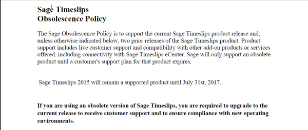 Current Timeslips Obsolescence Policy It S About Time